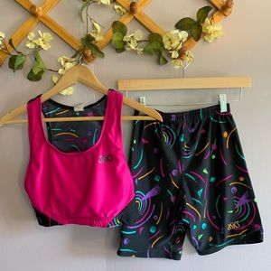 ASICS 80's STYLED WORKOUT TWO PIECE SET RETRO